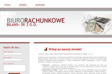 Bilans + Sp. z o.o. - Finanse Krosno