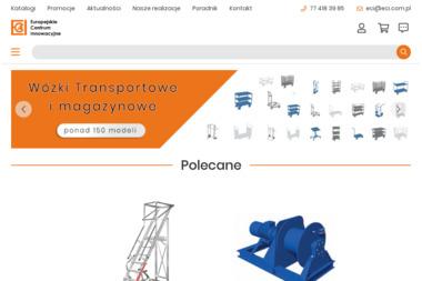 Europejskie Centrum Innowacyjne. Kompleksowe zaopatrzenie przemysłu - Konstrukcje stalowe Kluczbork