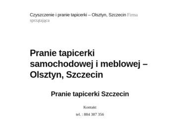 EcoClean. Sprzątanie, czyszczenie parowe - Sprzątanie domu Olsztyn