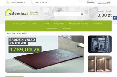 Sklep Edomio.pl - Wyposażenie łazienki Dębica