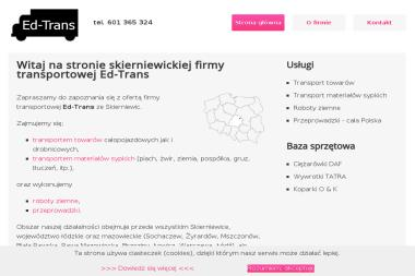 Ed-Trans - Przeprowadzki Skierniewice