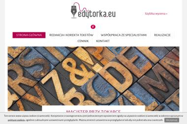 Edytorka Eu Pracownia Redakcji i Korekty Justyna Mroczkowska - Tłumacze Oleśnica