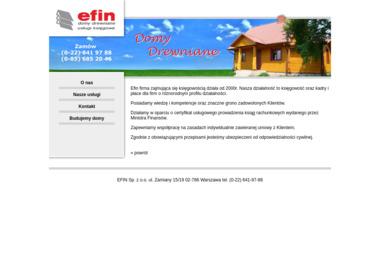 EFIN. Sprzedaż, budowa domów drewnianych - Domy szkieletowe Dubicze Cerkiewne
