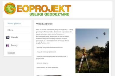 Geoprojekt. Geodezja, usługi geodezyjne - Geodeta Mielec