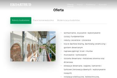 Ekoartbud Sp. z o.o. - Murarstwo Bielsk Podlaski