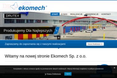 Ekomech Sp. z o.o. - Firmy inżynieryjne Kłębowiec