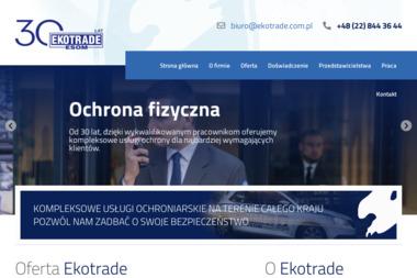 EKOTRADE Sp.z o.o. Jacek Bartoszek - Biuro Detektywistyczne Siemianowice Śląskie