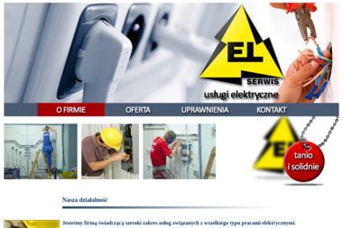 EL-Serwis. Usługi elektryczne - Usługi Budowlane Świdwin