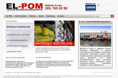 El-Pom Sp. J. Centrum materiałów budowlanych - Hurtownia Budowlana Choszczno