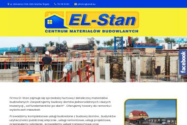 Centrum Materiałów Budowlanych  EL-Stan - Hurtownia Budowlana Gryfów Śląski