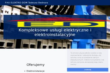 F.H.U. Elektro-Dom Tadeusz Bednarz - Elektryk Jeżowe