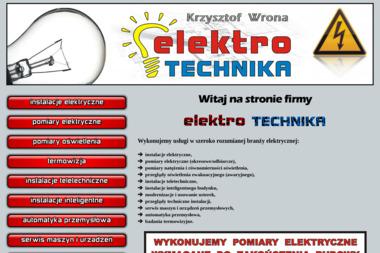 Elektro TECHNIKA Krzysztof Wrona - Usługi Elektryczne Zagórz
