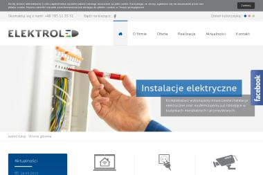 PPHU Elektroled s.c. Instalacje elektryczne, inteligentny dom, urządzenia elektroniczne - Inteligentny Dom Kalety