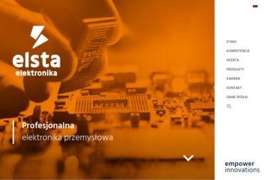 Elsta Elektronika Sp. z o.o. Spółka Komandytowo Akcyjna - Projekty Wnętrz Wieliczka