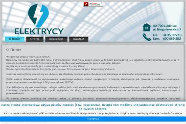 """""""ELEKTRYCY"""" S.C. - Elektryk Lubliniec"""