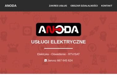 Anoda Usługi Elektryczne - Instalacja Oświetlenia Chociwel