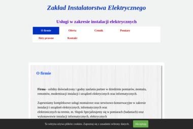 Zakład Instalatorstwa Elektrycznego - Instalacje Elektryczne Słupsk