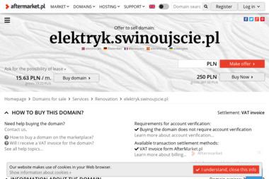 Zakład Usługowo-Handlowy Grzegorz Łowczynowski - Elektryk Świnoujście