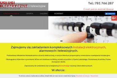 Usługi Elektryczne Patryk Dudziak - Wymiana Instalacji Elektrycznej Studnisko