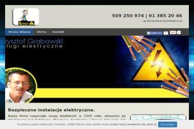 Krzysztof Grabowski F H u Grabowski - Elektryk Mrzeżyno