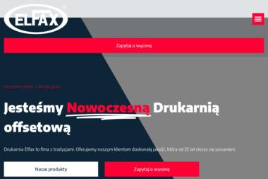 Drukarnia, Offset, Sitodruk Elfax S.C. - Drukarnia Gdynia
