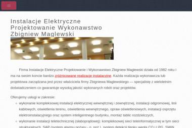 Zbigniew Maglewski Instalacje Elektryczne Projektowanie Wykonawstwo - Elektryk Siedlce