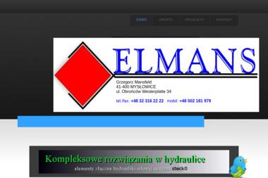 Elmans. Grzegorz Mansfeld - Hydraulik Mysłowice