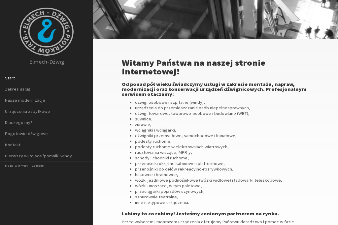 Elmech Dźwig S.C. Grzegorz Furman Juliusz Piasecki - Alpinizm Przemysłowy Piotrków Trybunalski