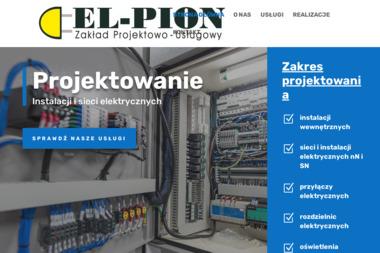 Zakład Projektowo-Usługowy El-Pion. Projektowanie, instalacje elektryczne - Elektryk Sanok
