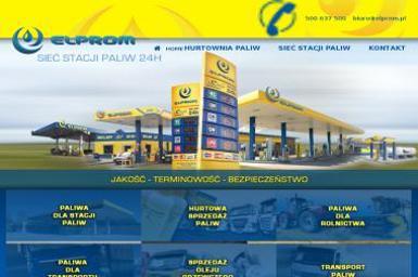 Elprom Sp. z o.o. Sprzedaż oleju napędowego - Opał Burzenin