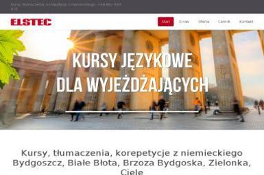 Elstec s.c. - Kurs niemieckiego Zielonka