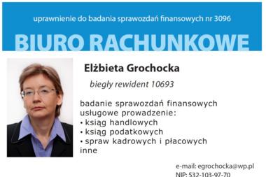 Biuro Rachunkowe Biegłego Rewidenta Elżbieta Grochocka - Usługi Księgowe Zaborów