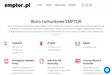 Biznes Grupa EMPTOR - Rozliczanie Podatku Garwolin