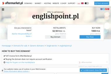 English Point Beata Osińska - Szkoła językowa Malbork