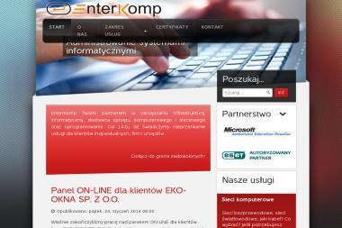 Enterkomp J Pierzga A Szyfer Spółka Jawna - Strony Internetowe Racibórz