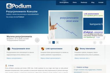 Epodium. Pozycjonowanie, marketing internetowy - Pozycjonowanie stron Borek Stary