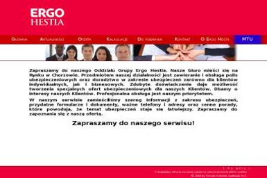 Oddział Grupy Ergo Hestia - Ubezpieczenia OC Chorzów