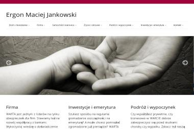 Ergon Maciej Jankowski - Ubezpieczenie samochodu Leszno