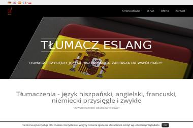 Piotr Kaliszewski Biuro Tłumaczeń Eslang Nazwa Skrócona Eslang - Biuro Tłumaczeń Poznań