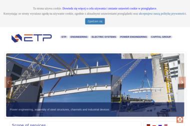 ETP Spółka Akcyjna Biuro w Bierawie - Firma Elektryczna Bierawa