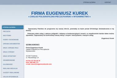 Eugeniusz Kurek - Drukarnia Wielkoformatowa Trzebinia