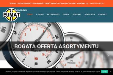 Eumat Serwis. Serwis hydrauliki siłowej, hydraulika siłowa 24h, pneumatyka - Hydraulik Opole