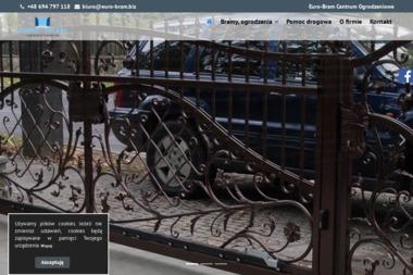 Euro Bram Centrum Ogrodzeniowe.Bramy, ogrodzenia, automatyka bram - Wymiana Okien Płoty