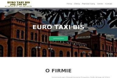 Stowarzyszenie Przewozu Osób Euro Tax Bis - Przewóz osób Skierniewice