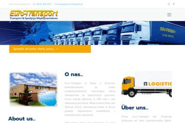 Tadeusz Krysa E u R O T R A N S P O R T - Transport busem Gryfice