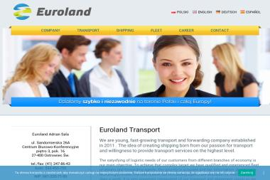 Euroland Adrian Sala - Transport Ostrowiec Świętokrzyski