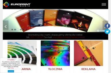 Europrint Media Wiesława Oset - Drukarnia Legionowo