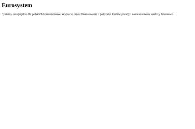 EUROSYSTEM SA - zdjęcia lotnicze, lidar, uas - Geodeta Chorzów