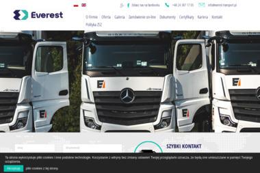 Everest International Transport & Spedition Wasowski & Wasowski Sp. z o.o. - Firma transportowa Sierpc