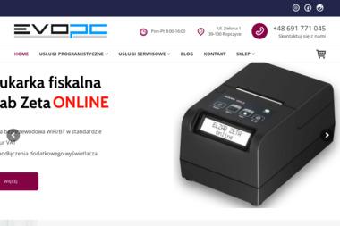 EvoPC. Branża it, serwis it - Strony internetowe Ropczyce